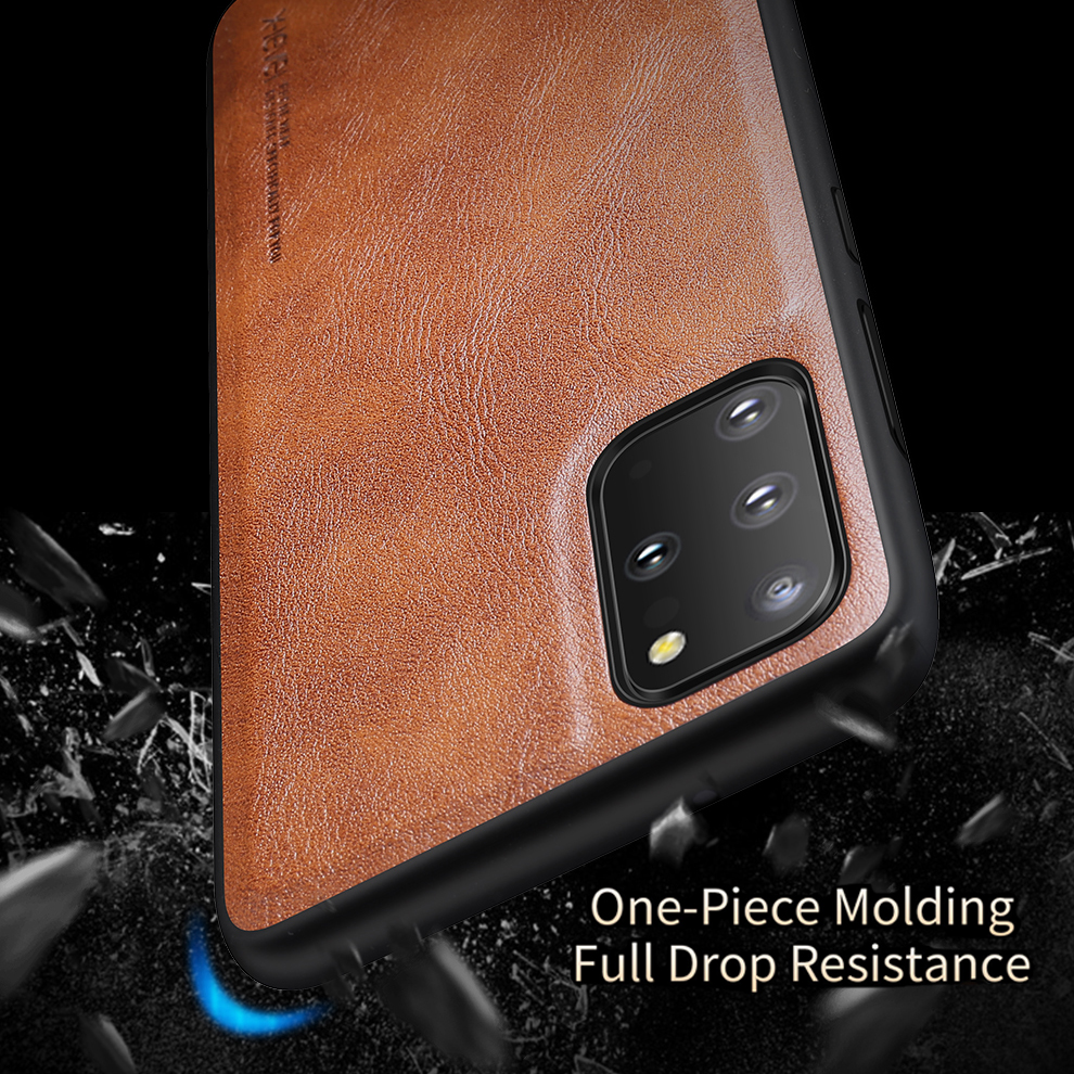 For Samsung Galaxy S20 Plus S20 Ultra S20 Phone Case High Quality Classi PU Leather Back Cover Soft edge TPU X-level