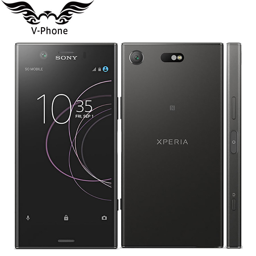 New Global Sony Xperia XZ1 Compact G8441 Mobile Phone 4GB RAM 32GB ROM Snapdragon 835 Octa Core 4.6