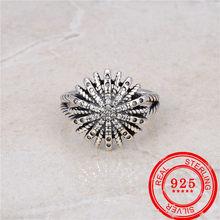 Stile coreano 100% anello in argento sterling 925 stile retrò anello in argento stile tailandese regalo di nozze gioielli in argento sterling di moda