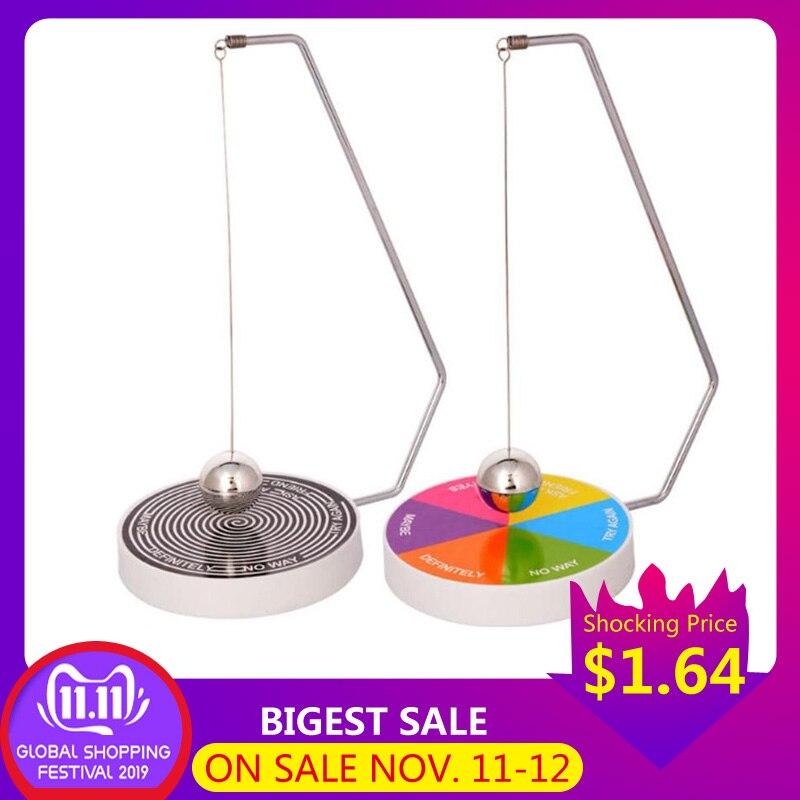 Decision Maker Ball Creative Pendulum Dynamic Desk Toy Gift Decoration Magnetic Swinging Pendulum Game Fate Fun Desk Accessories