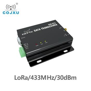 LoRa Wireless Module RS232 RS485 433MHz TCXO COJXU E90-DTU-433L30 Wireless Transceiver Long Range 8km PLC Receiver Radio Modem long range 433mhz switch value acquisition tcxo cojxu e830 dtu 2r2 433l wireless transceiver