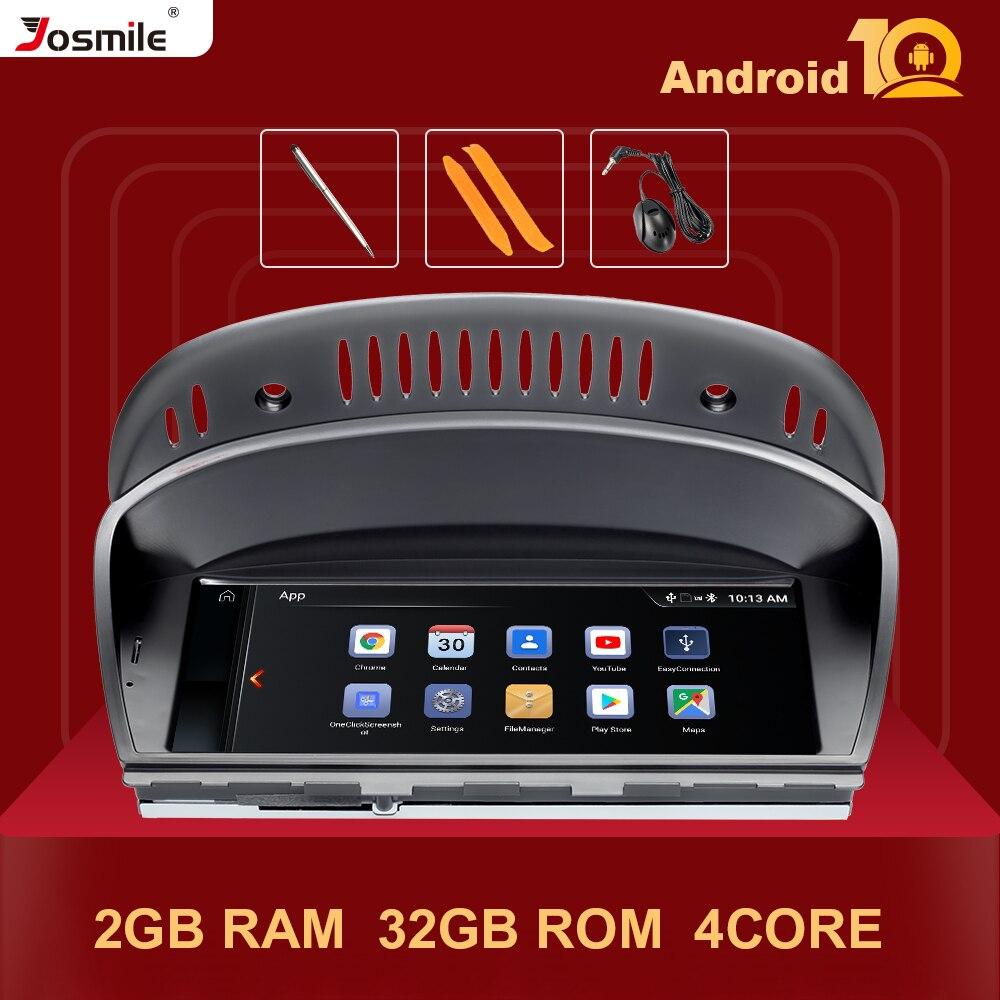 Ips android 10 multimídia do carro para bmw série 5/3 e60 e61 e62 e63 e90 e91 cic ccc gps unidade de cabeça da tela estéreo navegação rádio