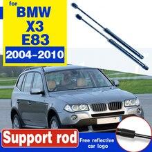 цена на for BMWX3 BMW X3 E83 2004-2010 51233400352 Exchange Bonnet Hood Gas Shock Lift Strut Bars Support Rod Bracket Car-styling
