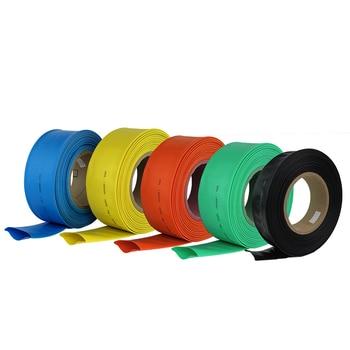 10 metros/lote de cables de tubo aislante, 1/2/3/4/5/6/8/10/10/12/14/16/18/20mm, negro 2