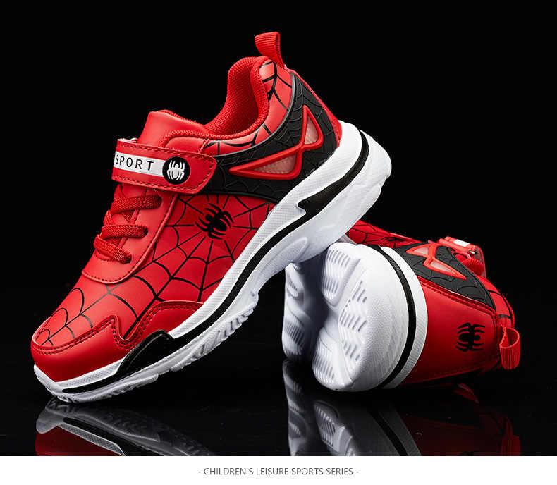 2019 nuovo Spiderman Scarpe Per Bambini Per Bambini Scarpe Scarpe Sportive Per Bambini Scarpe Per Bambini, Più di Velluto Caldo Scarpe Sportive Dei Ragazzi di Sport Scarpe