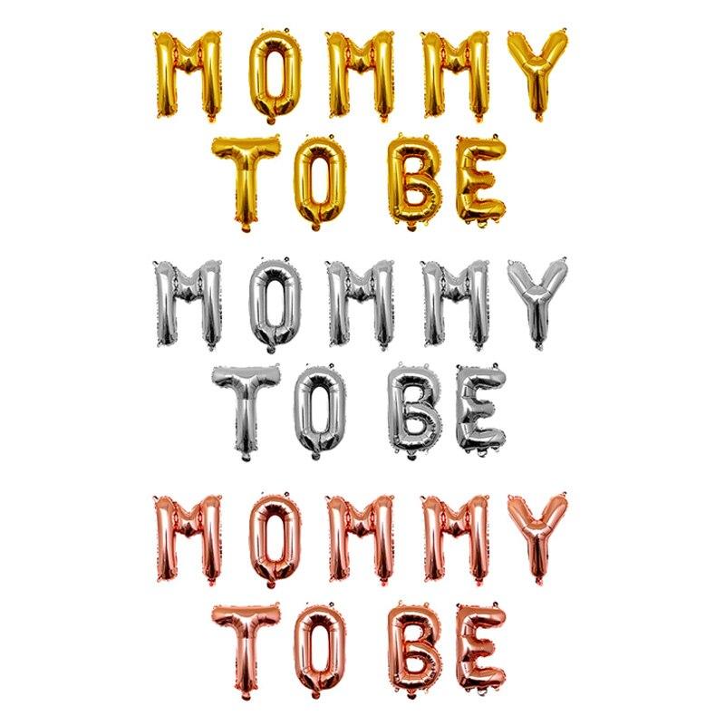 1PC złoto srebro mumia Mmm być Baby Boy dziewczyna balony na brzuszkowe dekoracje skrzydła na przyjęcie z okazji urodzin dziecka wystrój mama w ciąży Favor prezent