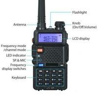 "5r uv עבור Baofeng UV-5R שני הדרך רדיו Dual Band 136-174 / 400-520Mhz 5W מכשיר הקשר Plug Type: ארה""ב Plug / בבריטניה תקע / AU Plug / האיחוד האירופי Plug (5)"