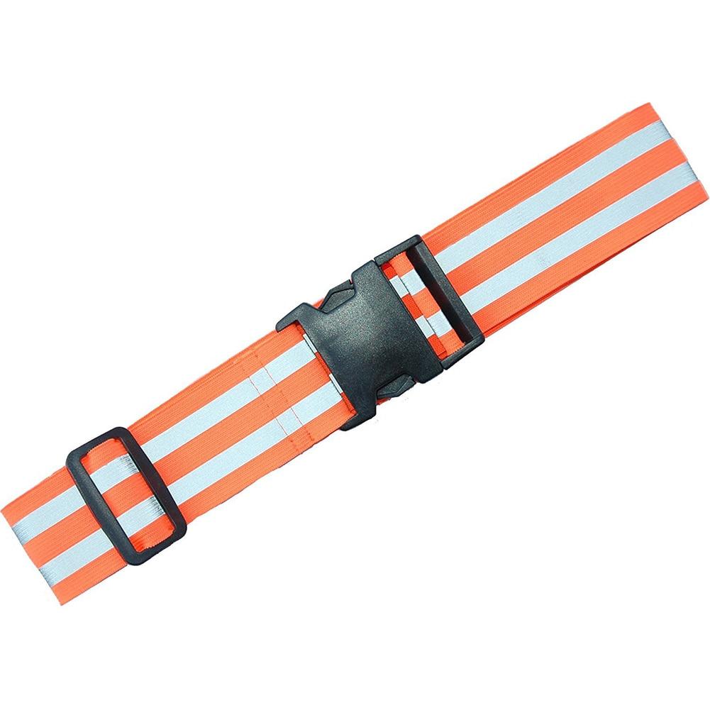 Men Women Elastic Waistband Gift Multifunction Outdoor Sports High Visibility Adjustable Biking Reflective Belt For Running