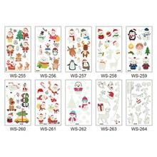 New Waterproof Luminous Christmas Tattoo Stickers Original Cartoon Children's Tattoo Stickers Disposable Tattoo Stickers