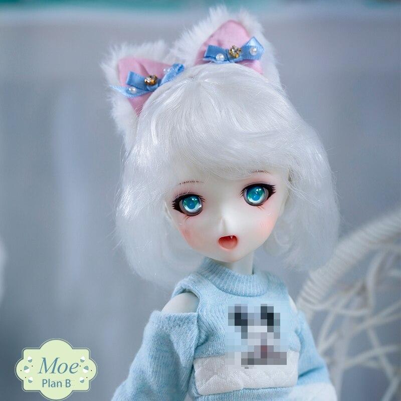SQ Lab Moe Chibi 1/6 BJD SD Модель из смолы для маленьких девочек и мальчиков куклы с открытыми глазами Высокое качество подарки на день рождения магазин полный комплект OUENEIFS|Куклы|   | АлиЭкспресс