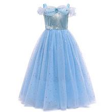 Платье для маленьких девочек; Детский костюм принцессы на выпускной для девочек; Вечерние платья на Хэллоуин и День рождения; Детское плать...