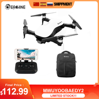 Eachine-Dron EX4 5G WIFI 1,2 KM FPV GPS con cámara 4K HD RC Quadcopter 3 ejes estable cardán 25 minutos tiempo de vuelo