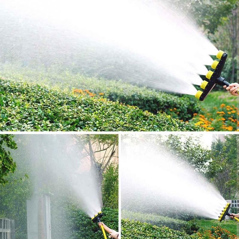 Garden Watering Greenhouse Agriculture Accessory Plastic Adjustable Atomizing Sprayer Yard Fog Misting Nozzle Outdoor Lawn-3