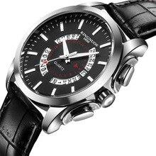 2019KINGNUOS Brand Authentic Mens Business Fashion Waterproof High-grade Quartz Watch