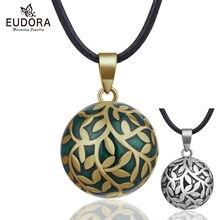 Подвеска eudora с шариком из дерева жизни ожерелье зелеными