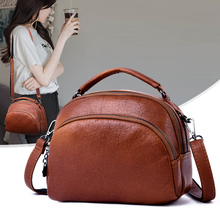 Elegant Female Shoulder Bags Three-dimensional Packet High Quality PU Leather Crossbody Bag Soft And Comfortable Handbag