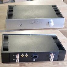 Chasis amplificador Q4308 de 430x238x80MM, carcasa de caja DIY, Clase A, con radiador, en ambos lados