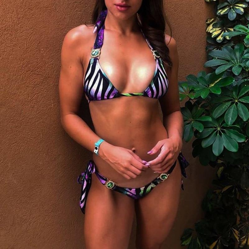 Hb074306c05d847fdbf0b40d597b2ad25T 2019 Rhinestone Swimsuit Women Bikinis Crystal Diamond Bikini Set Metal Chain Swimwear female Luxury Aristocratic Swimming Suit