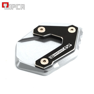 Image 5 - CNC Accessories Side Stand Enlarger Extension Kickstand Plate For BMW R1250GS  R1200GS LC Rally with Standart Suspension