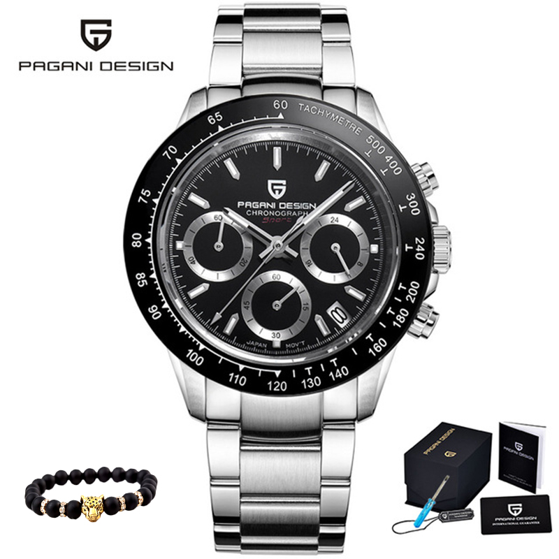 Quartz Men's Watches PAGANI DESIGN 2020 Business Casual Men Watch Top Brand Luxury Steel Wristwatch New Sprot Relogio Masculino