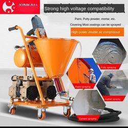 Elektryczny  wysoki nacisk maszyna rozpylająca maszyna do fugowania Grouter Cement wodoodporny naprawianie wyciek farba tynk kit opryskiwacz