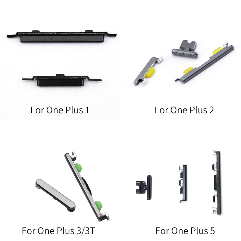 On/Off Switch Power Volume Adjustment Button For Oneplus 1 / 2 / 3 / 3T / 5 Flex Cable Ribbon Repair Parts Replacement