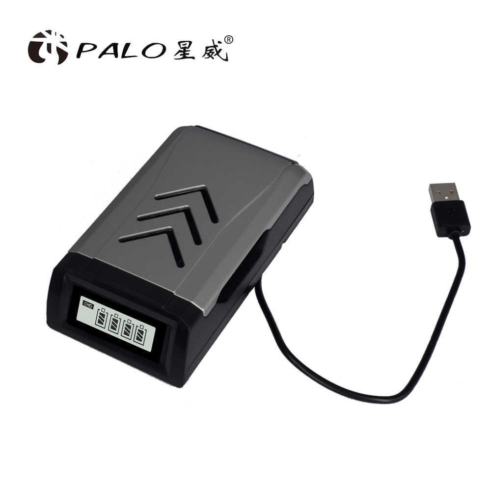 Cargadores de batería AAA AA pantalla LCD cargador de batería inteligente NI-MH NI-CD aa aaa cargadores + 4 piezas aaa 1100mah 12.v bateador recargable