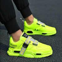 Hommes chaussures décontractées respirant mâle maille chaussures de course classique Tenis Masculino chaussures Zapatos Hombre Sapatos baskets