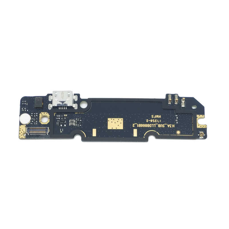 オリジナル xiaomi redmi 注用のポートを充電 3 プロ充電ボード usb プラグフレックスケーブル pcb コネクタスペアパーツ
