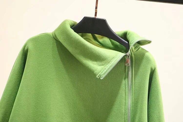 Осенне зимняя женская и Мужская бархатная толстовка на молнии, пуловер, свитшоты, одноцветная толстовка с капюшоном, унисекс, Женский пуловер, верхняя одежда - 5