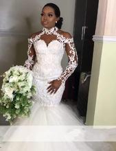 Африканский Свадебные платья Русалочки 2021 элегантное платье