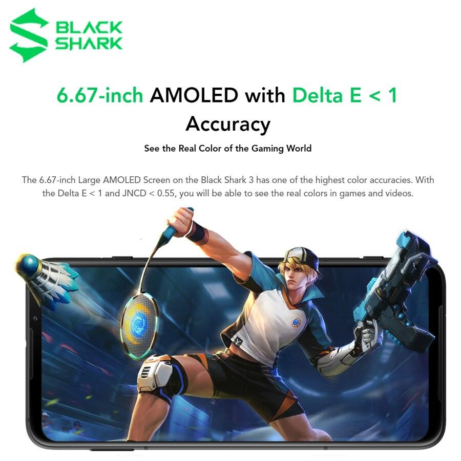 5G Gaming Phone Global Version Xiaomi Black Shark 3 6.67