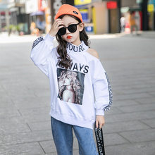 Kids Girl long Sleeve Off Shoulder Crop Top Letter Print Spring Halter Off Shoulder Knitted T Shirt Teenagers Cute Autumn Tshirt Clothing For Age 4 5 6 7 8 9 10 11 12 13 14 15 Years Old