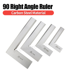 Try Square Rule Measuring Multi Angle Bladed 90 Degree Angle Ruler L-shaped Ruler Set Square Ruler Squads Gauge Tool Squads