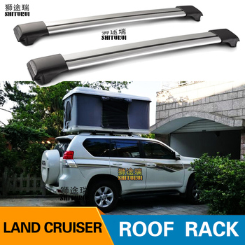 2Pcs Car Roof Rack Cross Bar FOR Toyota PRADO LAND CRUISER 2700 5700 Top Cargo Luggage Carrier For Auto Offroad 2016 2017 2018 image