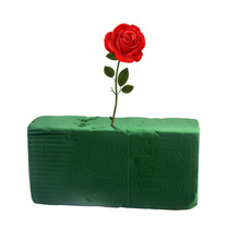 DIY флорист для свежих цветов расположение зеленый дисплей кубики из пенополистирола цветочный