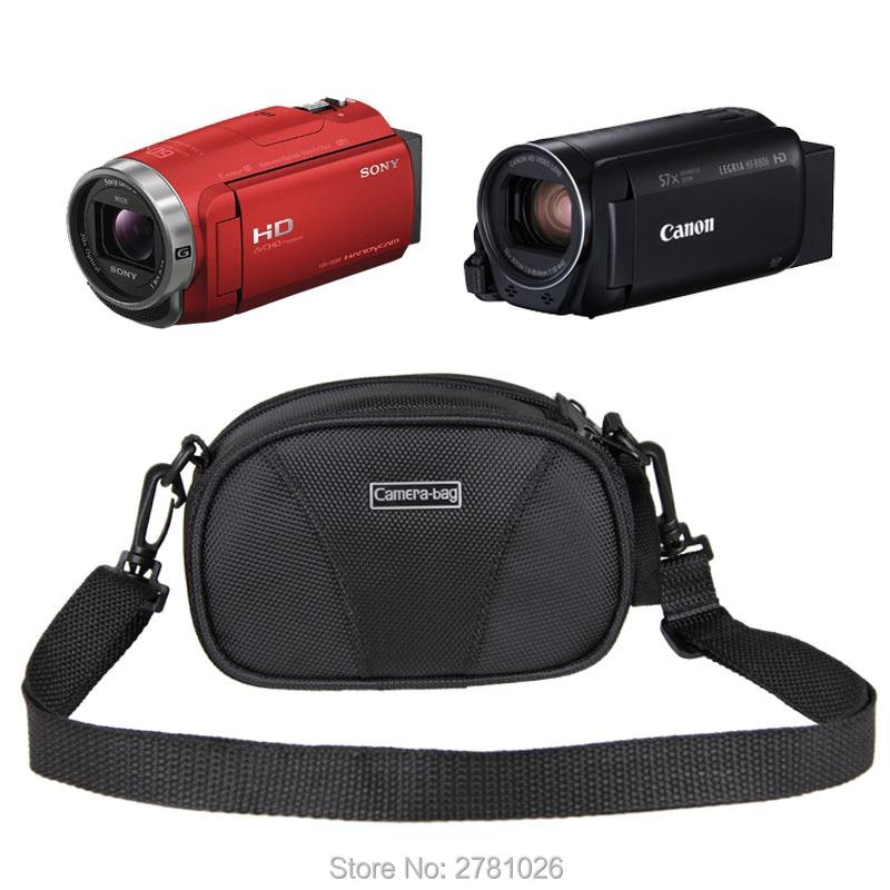 Shoulder Waist HD DV Camcorder Case Bag For Canon LEGRIA HF R88 R86 R806