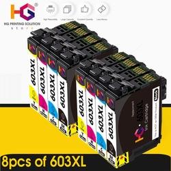 603 XL Compatible for Epson 603XL E603 T603 for XP-2100 XP-3100 WF-2810 XP-3105 XP-4100 XP-4105 WF-2830 XP-2105 Printer