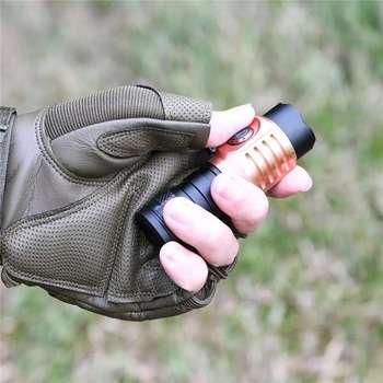 Astrolux S43S 4x XP-G3 / Nichia 219C 2100 Lumens Mini Portable EDC 18350 18650 LED Flashlight Tactical Hammer Torch Waterproof lumintop mini flashlight edc01 cree xp g3 r5 led max 120 lumens black color keychain flashlight pocket torch