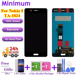 """For Nokia 5 N5 TA-1024 TA-1027 TA-1044 TA-1053 5.2"""" LCD Display Touch Screen Digitizer Assembly For Nokia5 Replacement LCDs(China)"""
