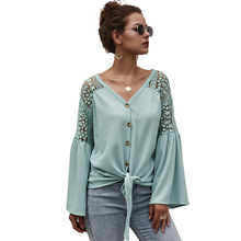 Echoine women sweater Autumn winter long-sleeved cardigan solid color Tops female Hook flower hollow pullover ladies casual
