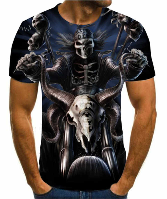 skull beach t shirt