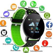 Смарт-часы 2021 крови Давление сердечного ритма FitenessTracker футболки для мужчин, женщин и детей, умные часы для Android IOS смарт-часы с круглым
