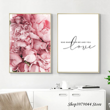 купить Nordic Poster Rose Flower Painting Wall Art Canvas Posters And Prints Modern Decoration Home Wall Pictures For Bedroom Unframed по цене 185.62 рублей