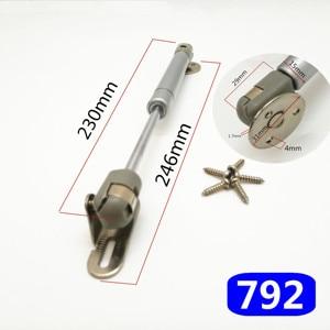 Image 4 - Bisagra para muebles de 8 pulgadas, 30N/100N, soporte neumático de elevación de puerta, resorte de Gas hidráulico, retención neumática