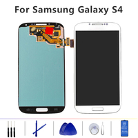 IPS LCD Assembly for Samsung Galaxy S4 lcd digitizer Touch Screen GT i9505 i9500 i337 LCD For Samsung S4