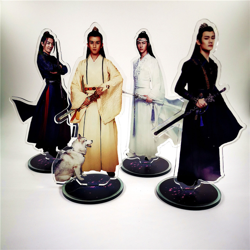 New Chen Qing Ling  Xiao Zhan Wang Yibo Acrylic Stand Figure Model High  Collection Charm Souvenir Accessories Birthday Gift