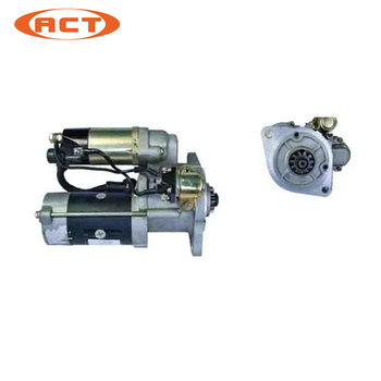 Auto engine parts starter motor prices for HZD700-5/7 6D31 M2T78381 M2T78372 M2T78382 170f 178f 186f 188f 192f engine parts the starter motor two choice please check rotation of the starter
