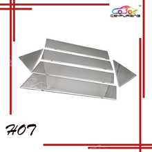 304 Stainless Steel Car Window Pillar Post Trims For Chrysler 300C 2004 2005 2006 2007 2008 2009 2010 6 pieces/set