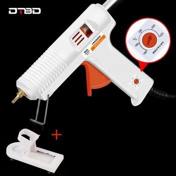 цена на Hot Melt Glue 30W/100W/150W/100-280W Professional High Temperature Hot Melt Glue Gun Repair Tools Hot Glue Gun With Stick